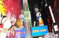 SAMBA, Times Square New Years Eve